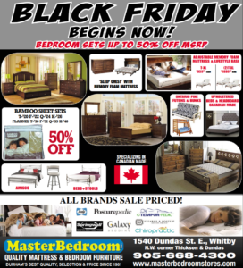 MasterBedroom Flyer Black Friday