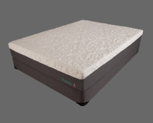 "Canadian Organic Cotton 10"" Gel Infused Memory Foam Mattress"